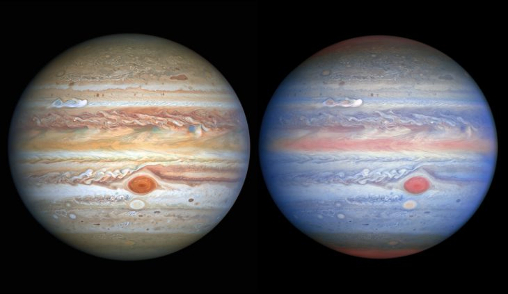 Jupiter : Hubble voit double